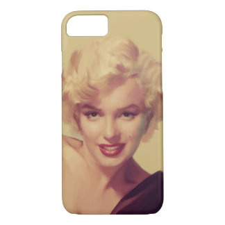 Marilyn in Black iPhone 8/7 Case