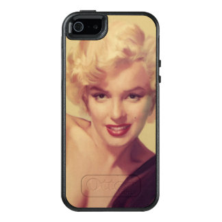 Marilyn in Black OtterBox iPhone 5/5s/SE Case
