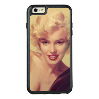Marilyn in Black OtterBox iPhone 6/6s Plus Case