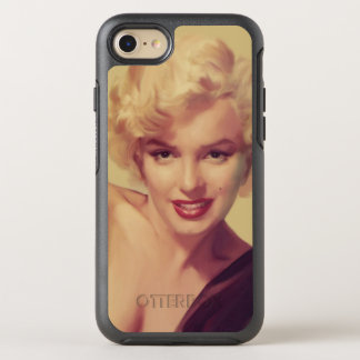 Marilyn in Black OtterBox Symmetry iPhone 8/7 Case