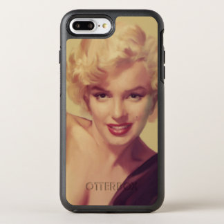 Marilyn in Black OtterBox Symmetry iPhone 8 Plus/7 Plus Case