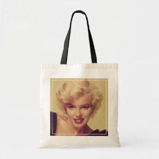 Marilyn in Black Tote Bag