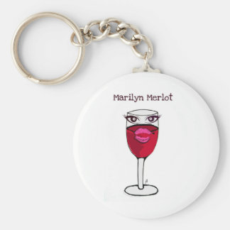 MARILYN MERLOT...WINE PRINT BY JILL KEY RING