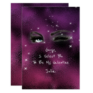 Marilyn Monroe Valentine Love Declaration Pink 9 Cm X 13 Cm Invitation Card