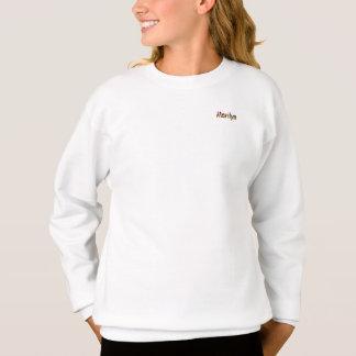Marilyn Sweatshirt in white