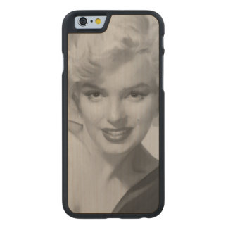 Marilyn the Look Carved Maple iPhone 6 Case