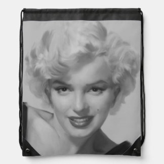 Marilyn the Look Drawstring Backpack