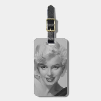 Marilyn the Look Luggage Tag