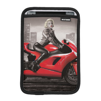 Marilyn's Motorcycle iPad Mini Sleeve