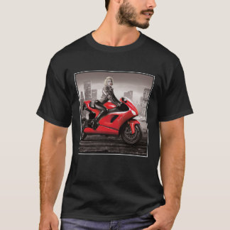 Marilyn's Motorcycle T-Shirt