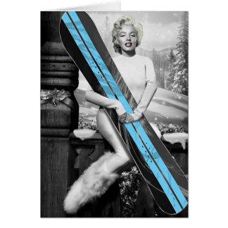 Marilyn's Snowboard Card