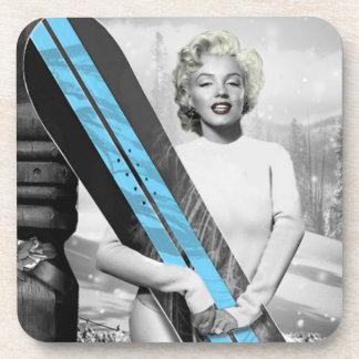 Marilyn's Snowboard Coasters