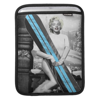 Marilyn's Snowboard iPad Sleeve