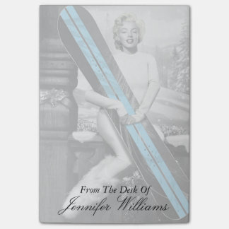 Marilyn's Snowboard Post-it Notes