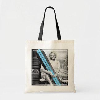 Marilyn's Snowboard Tote Bag