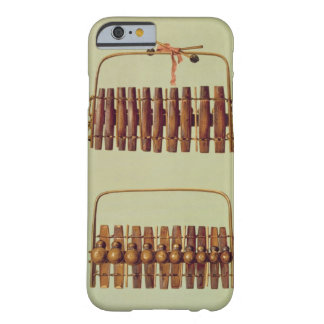 Marimba, front and back views, South African, from Barely There iPhone 6 Case