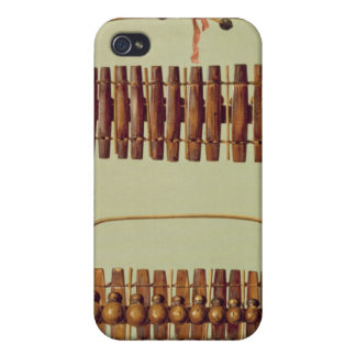 Marimba, front and back views, South African, from Case For The iPhone 4