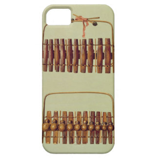 Marimba, front and back views, South African, from iPhone 5 Case