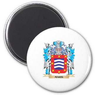 Marin Coat of Arms - Family Crest Refrigerator Magnets