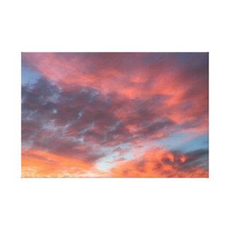 Marin County Sunset Canvas Print
