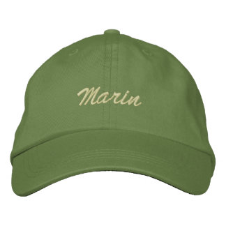 Marin Embroidered Baseball Caps