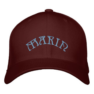 MARIN EMBROIDERED HAT