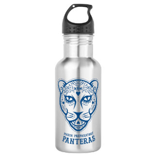 Marin Preparatory Blue Pantera Water Bottle