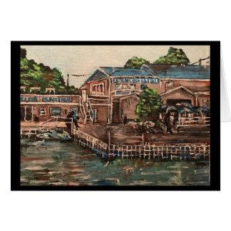 Marina at Portside, Kelley's Island  Greeting Card