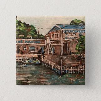 """Marina at Portside, Kelley's Island Ohio"" Button"