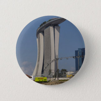Marina Bay Sands hotel and lighting equipment 6 Cm Round Badge