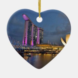 Marina Bay Sands luxury hotel Singapore Christmas Ornament