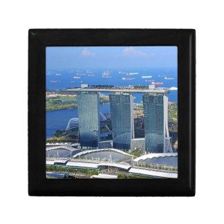 Marina Bay Sands luxury ship shaped hotel Gift Box
