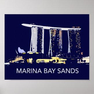 Marina Bay Sands Poster