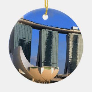 Marina Bay Sands Singapore Christmas Ornament