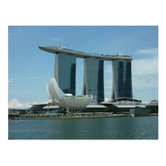 Marina Bay Sands Singapore Postcard