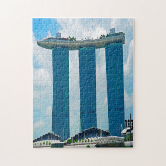 Marina Bay Sands Singapore. Puzzle