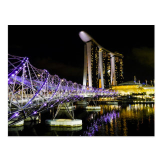 Marina Bay, Singapore - Postcard