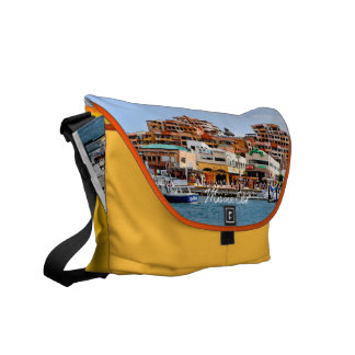 Marina Cabo Rickshaw Messenger Bag
