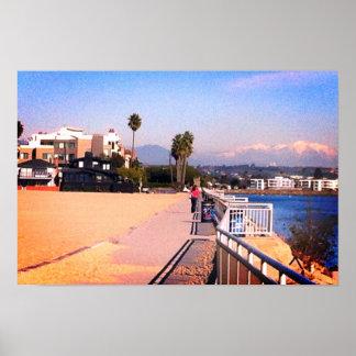 Marina del Rey, CA Poster