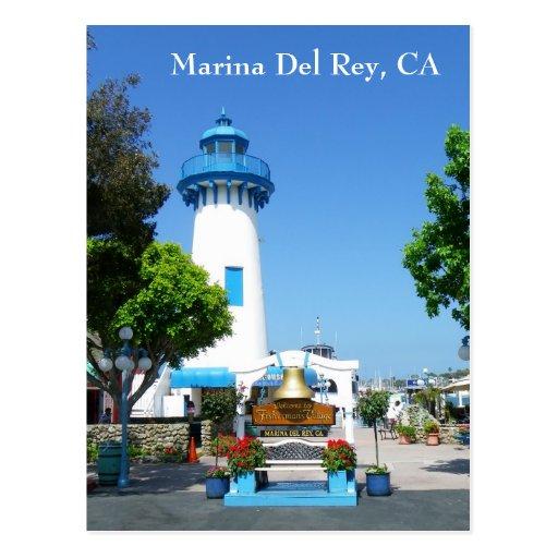 Marina Del Rey Postcard!