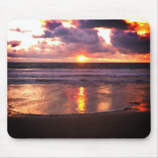 Marina del Rey Sunset Mouse Pad