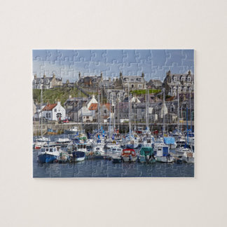 Marina, Findochty, Moray, Scotland, United Jigsaw Puzzle