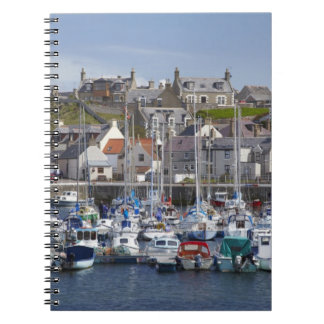 Marina, Findochty, Moray, Scotland, United Spiral Notebook