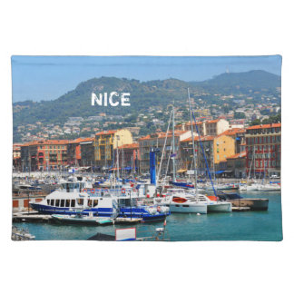 Marina in Nice, France Placemat
