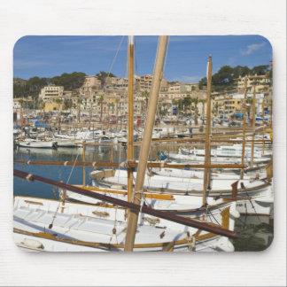 Marina, Port de Soller, West coast, Mallorca, Mouse Mat