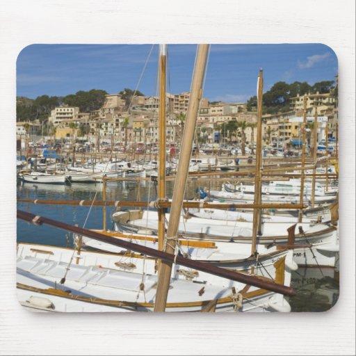 Marina, Port de Soller, West coast, Mallorca, Mouse Pads
