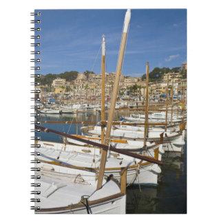 Marina, Port de Soller, West coast, Mallorca, Note Books
