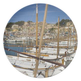Marina, Port de Soller, West coast, Mallorca, Plate