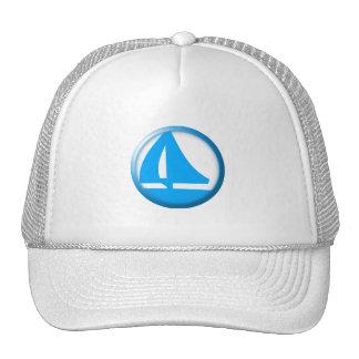 Marina Symbol - Sailboat Trucker Hat