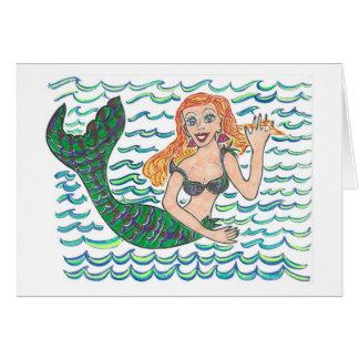 Marina The Mermaid Card